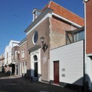 De joodse synagoge in Alkmaar