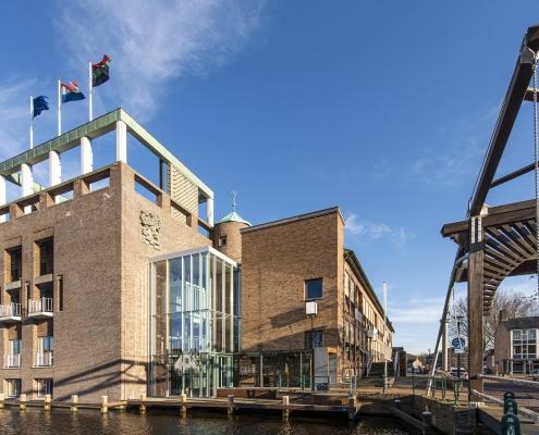 Het raadhuis in Aalsmeer